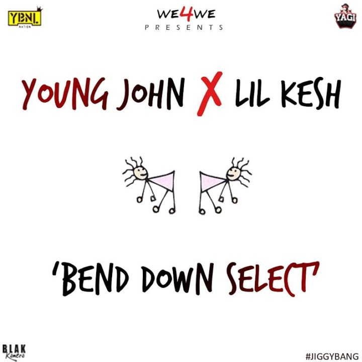 Young-John-Lil-Kesh-Bend-Down-Select-Art