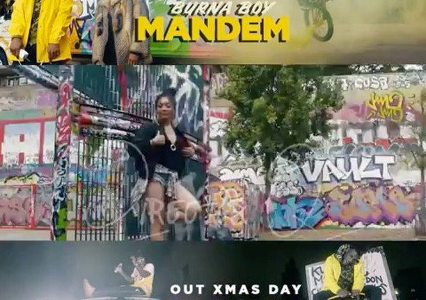 "VIDEO: Burnaboy – ""Mandem Anthem"""