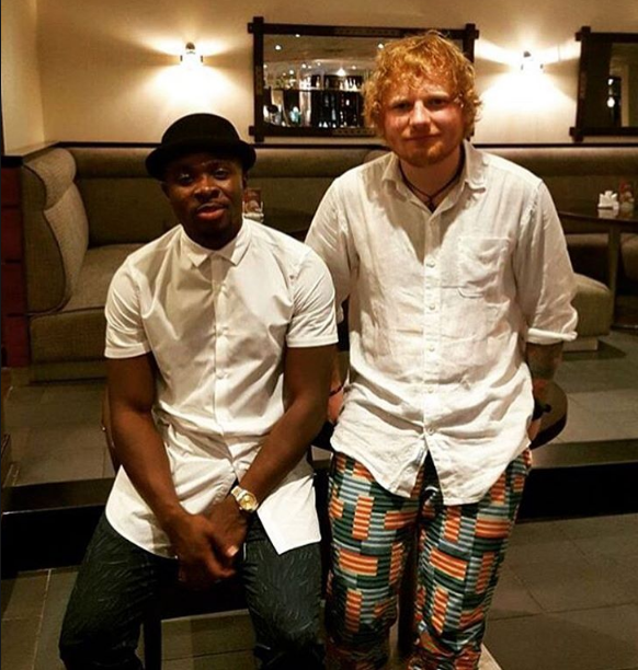 Fuse ODG and Killbeatz Assist Ed Sheeran - Bibia Be Ye Ye