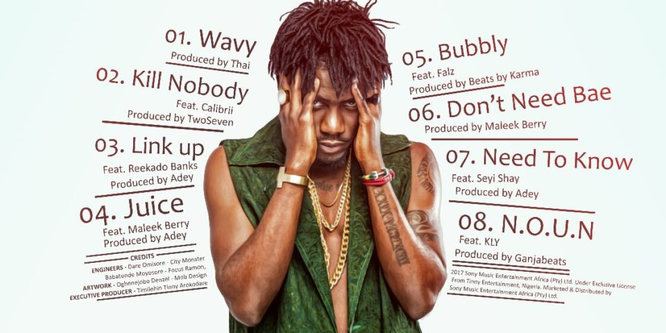 "Ycee Unveils Tracklist For Debut EP ""First Wave"""