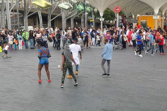 African Dance Street Style in London