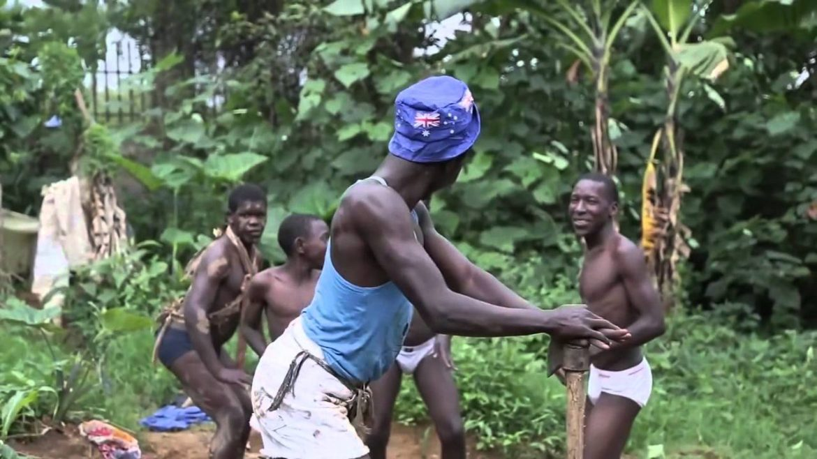 Village African Family Dancing