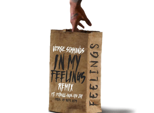Verse Simmonds – In My Feelings (Remix) Ft. Akon, Pitbull & Ayo Jay