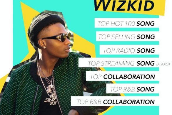 Wizkid Earns 7 Billboard Music Awards Nomination