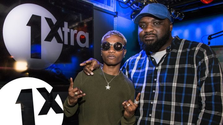 Wizkid On BBC Radio 1Xtra