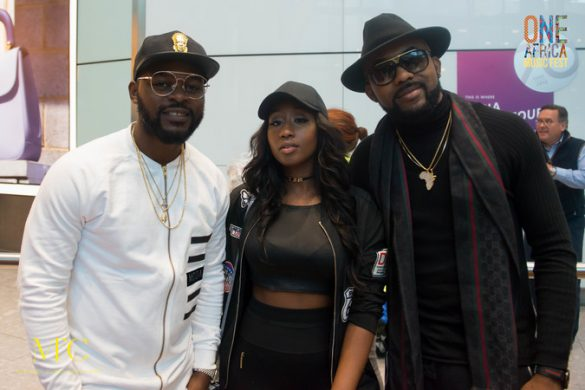 BANKY W, FALZ, VICTORIA KIMANI AND CASSPER NYOVEST ARRIVE IN LONDON FOR ONE AFRICA MUSIC FEST