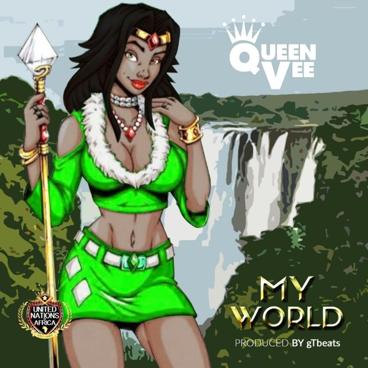 Queen Vee – My World (prod. gTbeats)