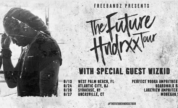 "Wizkid To Feature as a Special Guest On ""The Future Hndrxx Tour"""