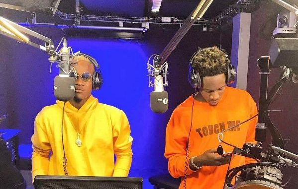 Mr. Eazi x Dotman's Freestyle On BBC 1Xtra