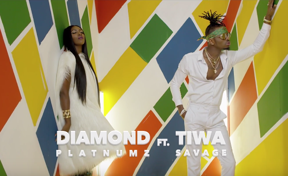Diamond Platnumbz Ft. Tiwa Savage – FIRE