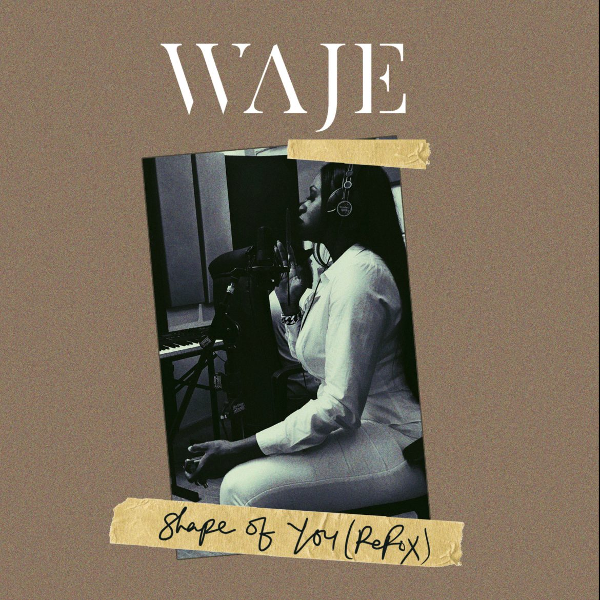 "VOCAL POWERHOUSE ""WAJE"" SLAYS WITH COVER OF ED SHEERAN'S ""SHAPE OF YOU"""