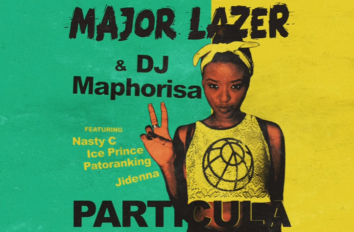 Major Lazer – Particula Ft. Patoranking, Ice Prince, Jidenna & Nasty C