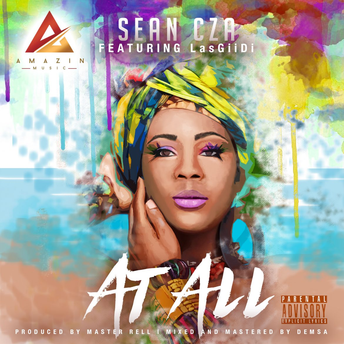 Sean Cza - AT ALL ft LasGiidi Prod By Dj Rell + (B-T-S Video)