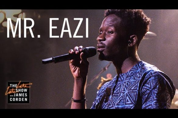 Mr Eazi Performs Live On The Late Late Show With James Corden