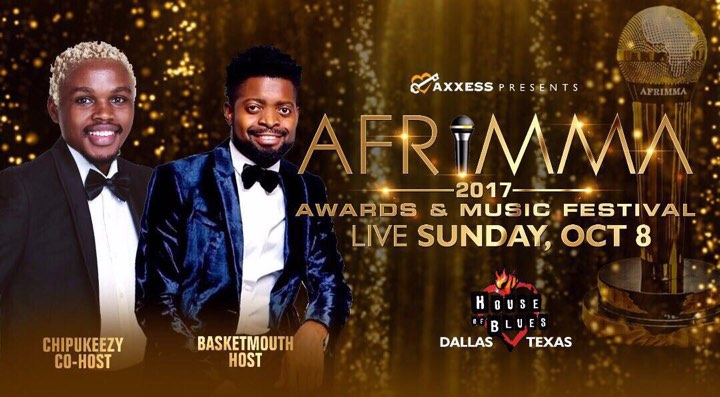 Nigeria's Basketmouth and Kenya's Chipukeezy Announced as AFRIMMA 2017 Awards & Music Festival Hosts