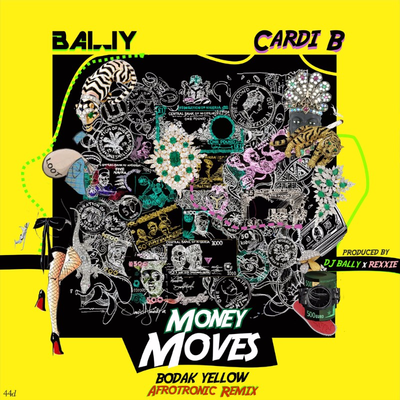 """Money Moves"" Afrotronic Remix by DJ BALLY"