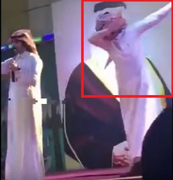 Saudi singer arrested for dabbing