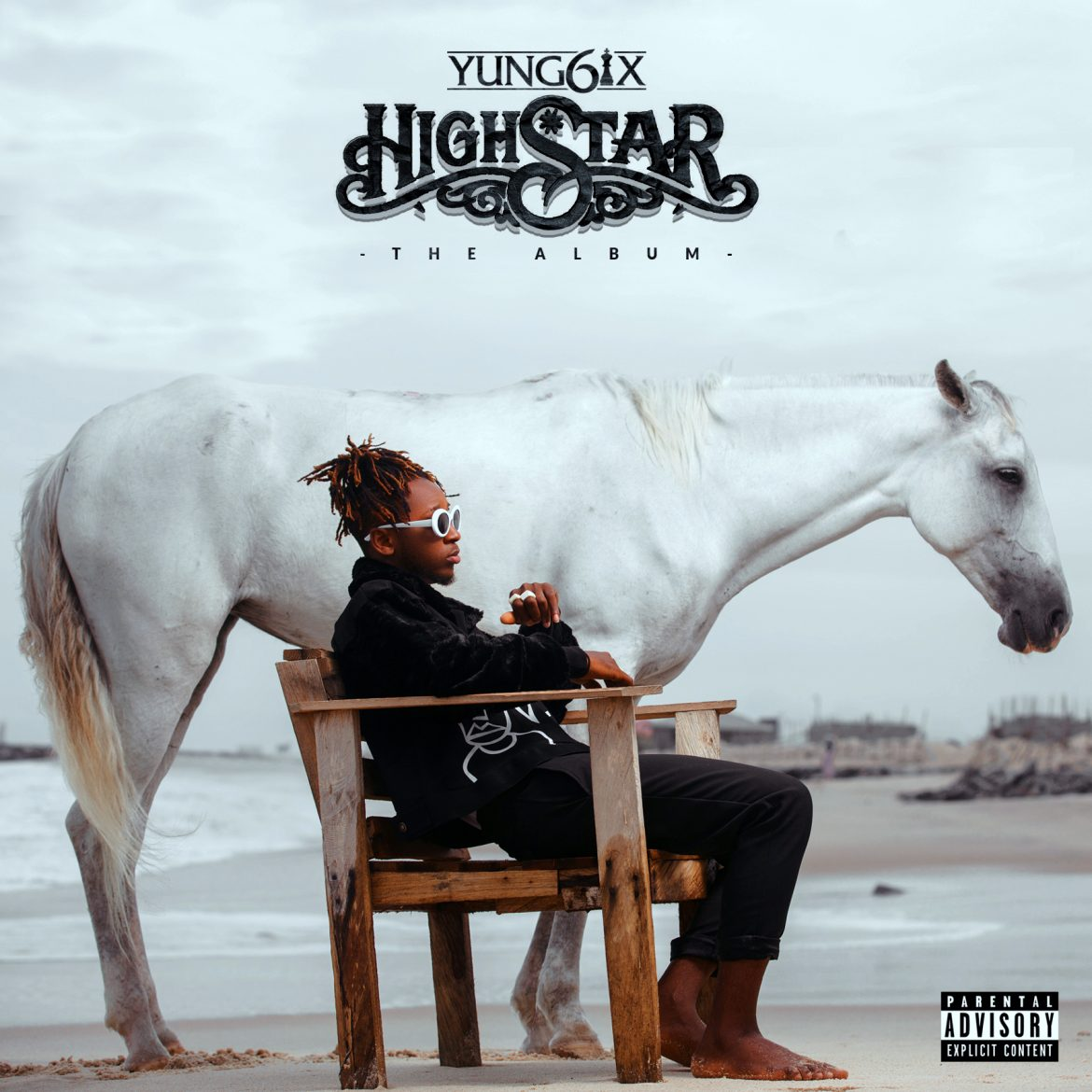 "YUNG6IX UNVEILS ""HIGH STAR"" ALBUM ART"