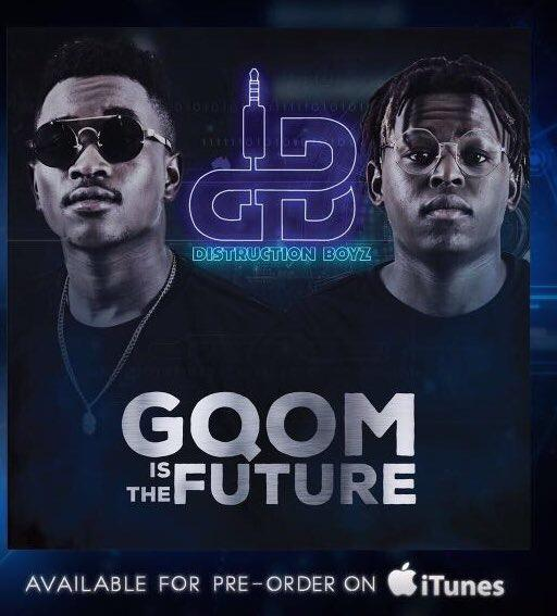 South African duo Distruction Boyz are releasing their debut album Friday 20 October