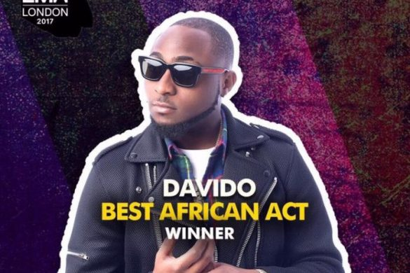 Davido Wins Best African Act At The 2017 MTV EMA