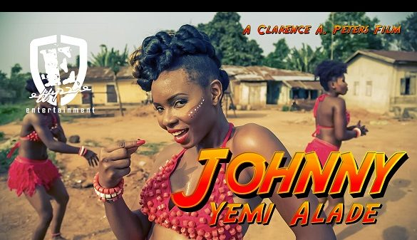 Yemi Alade 'JOHNNY' Now Most Viewed Nigerian Music Video on Youtube