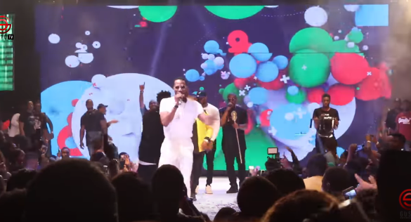 DON JAZZY, D'BANJ UNITE AGAIN AS MO'HITS CREW PERFORM AT 30 BILLION CONCERT