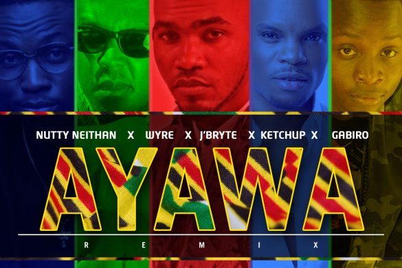 J'Bryte - Ayawa Remix ft Wyre, Gabiro Mtu Necessary & Neithan