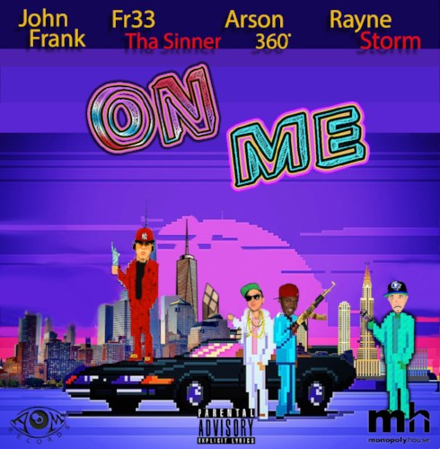 "John Frank releases ""On Me"", his official debut single"