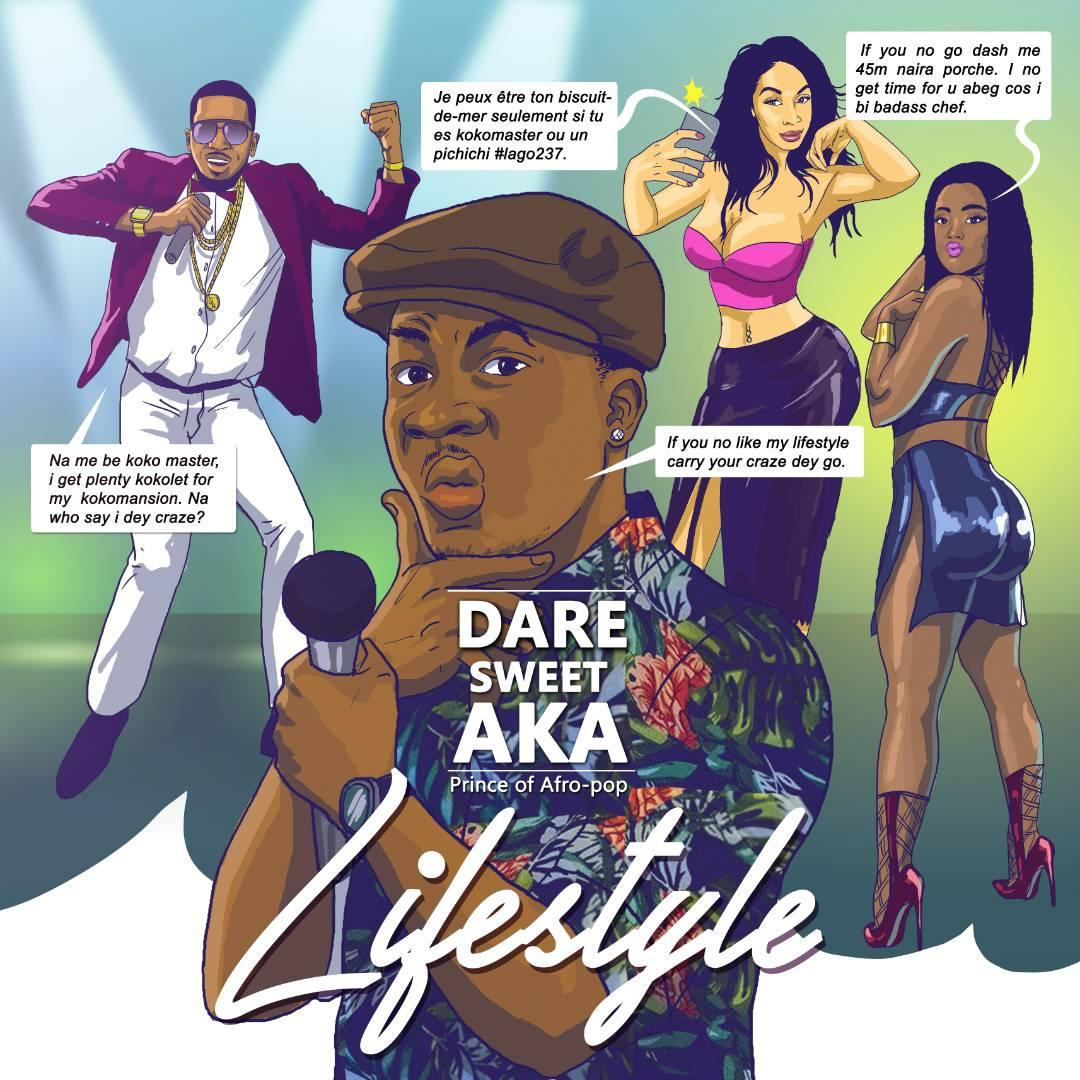 "New diss song ""Lifestyle"" by Nigerian-Swedish ""Prince of Afro-pop"" Dare Sweet"