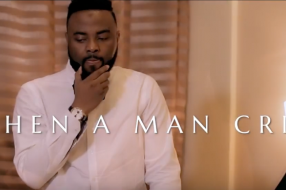 VJ Adams – When A Man Cries II ft Praiz