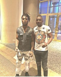 Burnaboy and Richard Iroko