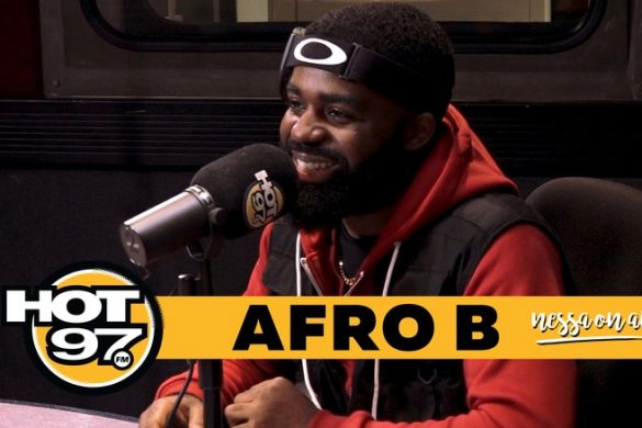 Afro B on His Song Joanna, Shaq's Remix and Future Dream Collabs On Hot 97