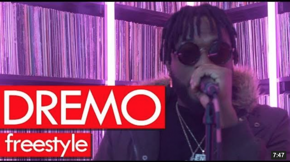 Watch Dremo Freestyle On Westwood Crib Session