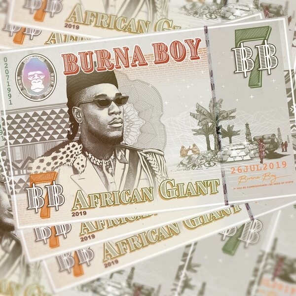 Burna Boy Trends Worldwide as He Drops 'African Giant Album'