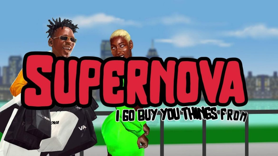 Mr Eazi – Supernova (Visualizer)