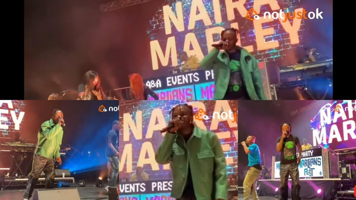 Watch Naira Marley Shut Down The 02 Academy, Brixton