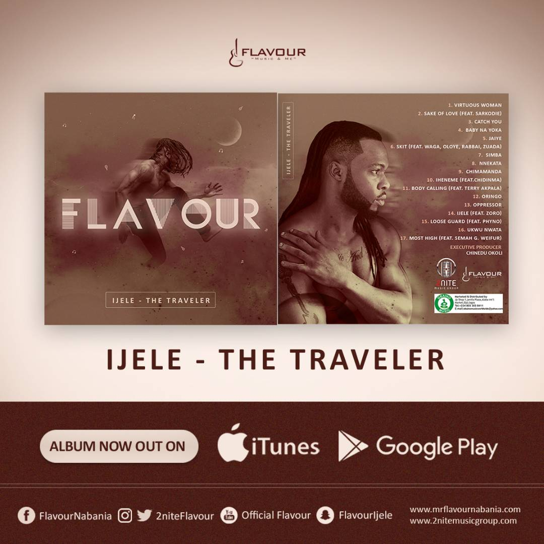 """FLAVOUR: """"IJELE - THE TRAVELER"""" ALBUM AVAILABLE ON ITUNES"""