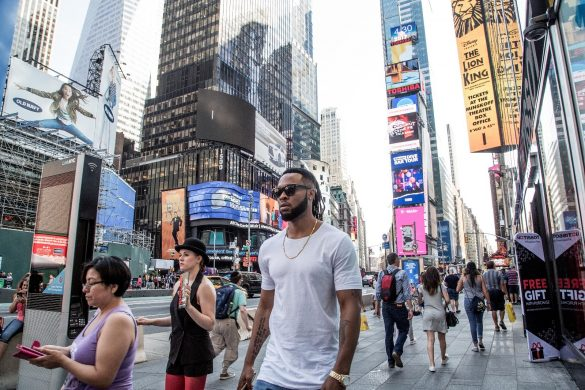 FLAVOUR IN NEW YORK AHEAD OF ONE AFRICA MUSIC FEST AND EXCLUSIVE ALBUM LISTENING PARTY