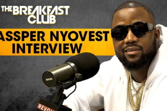 Cassper Nyovest On The Breakfast Club