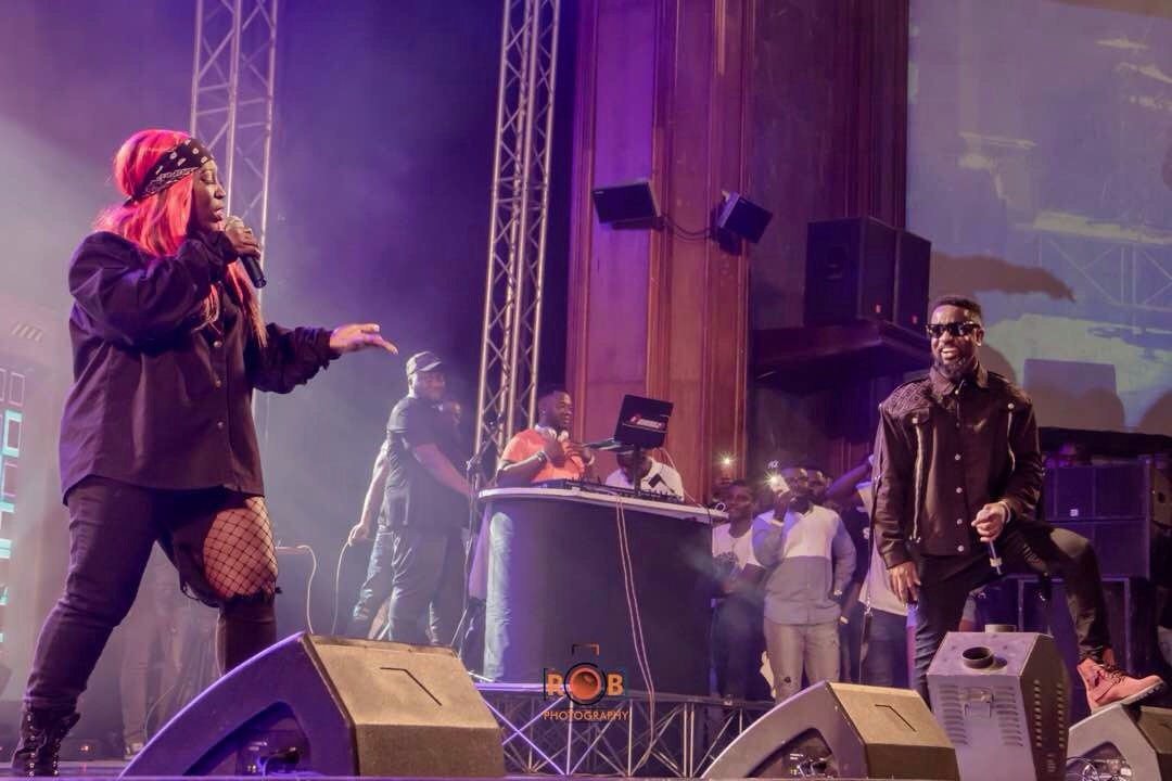 Eno Barony Wowed Fans At Sarkodie's Rapperholic Concert 2017.