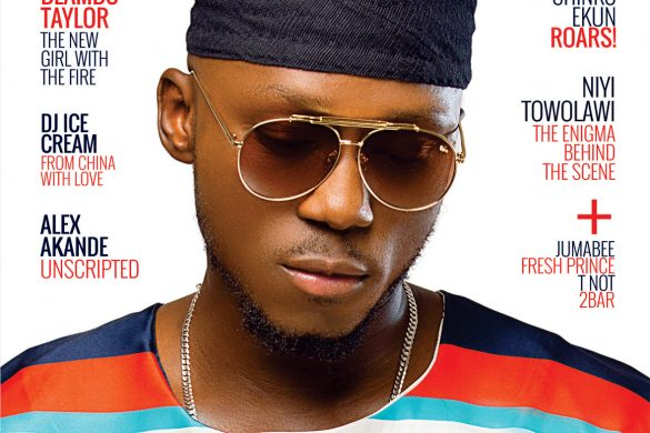 DJ SPINALL IS THE COVER STAR FOR SIMPLE MAGAZINE