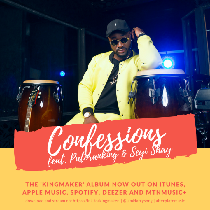 Harrysong ft. Patoranking & Seyi Shay – Confessions