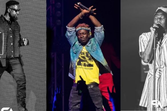 Shots fired!!! Shatta Wale has attacked Ghanaian rappers Sarkodie and Stonebwoy in a post on Twitter earlier today, calling them a disgrace to the Ghanaian music industry. Apparently, Stonebwoy and Sarkodie had reacted to Shatta Wale's congratulatory message to Burna Boy on his massive win at the Soundcity MVP on the 5th of January 2019. Although the reactions of posts from Sarkodie and Stonebwoy were not seen, at least wasn't at the time of this post, this is Shatta Wale's response to them; Your sarkodie and Stonebwoy and Stonebwoy u Dey fight me for are disgrace to this industry ..Just a post to my blood and u guys are here ranting like the real village I sang about ..Ghana is truly a village .. Fuck you and Fuck your artists artists again Kwasiafuo …