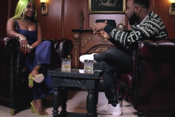 VJ Adams Launches New Show, #OFFTHETOP   WATCH Ep 1 ft. Niniola