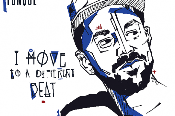 "Kid Fonque - ""I Move to a Different Beat"""