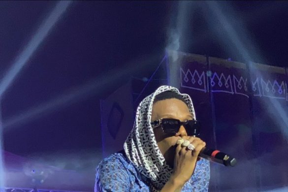 Watch Wizkid's Superb Performance At The Afronation Ghana
