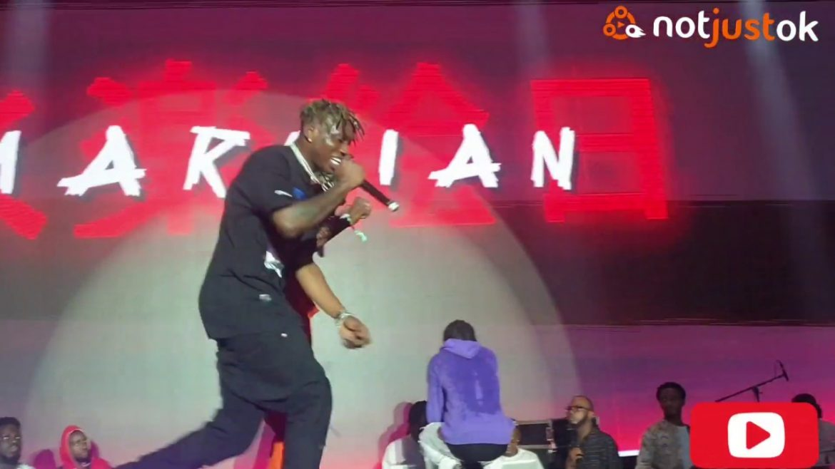 Zlatan Ibile Wows The Crowd At Marlian Fest